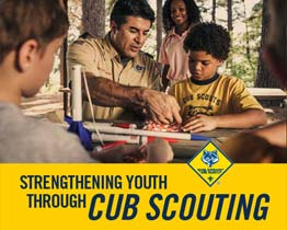 Strengthening Youth Through      Cub Scouting